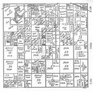 Michigan Plat Maps by Lake Co Michigan Farm Plat Book