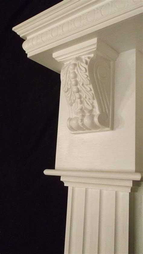Mantel Corbels Items Similar To Wood Gas Corbel Fireplace Mantel