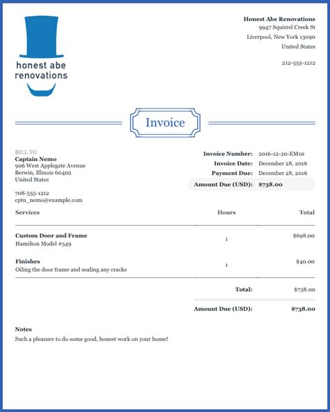 Wave Invoice Template How To Customize Your Invoices And Estimates Help Center