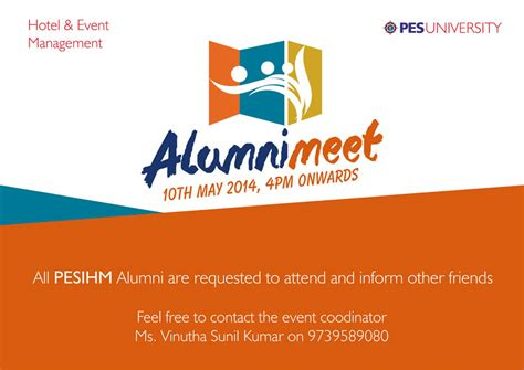 Mba In Umak by Invitation Letter Format For Alumni Meet Sle