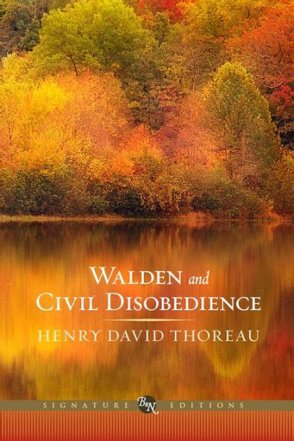 walden book barnes and noble walden and civil disobedience barnes noble classics