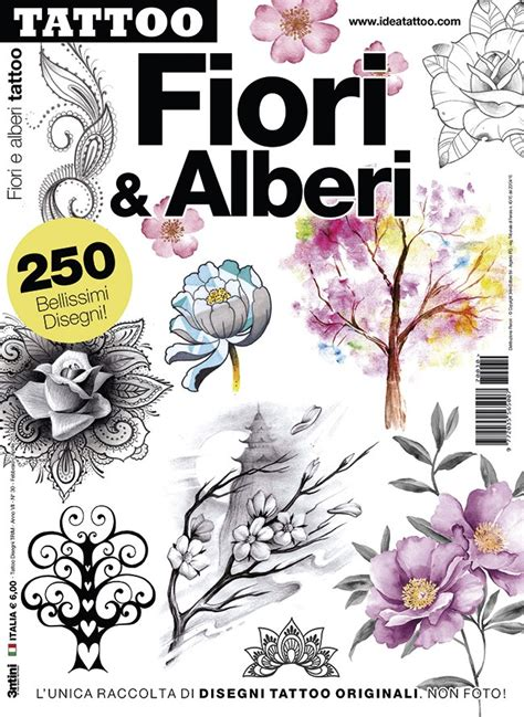 alberi con fiori fiori e alberi