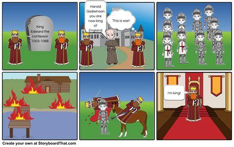 battle of hastings storyboard by cherrypopj