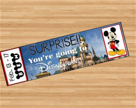 printable pretend disney tickets printable ticket to disneyland disney world with custom name