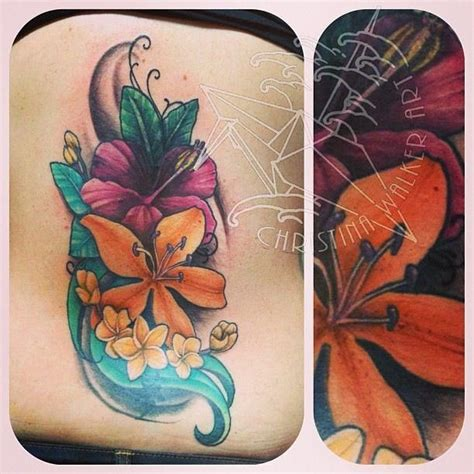 tropical flowers tattoo designs tropical flowers tatoos