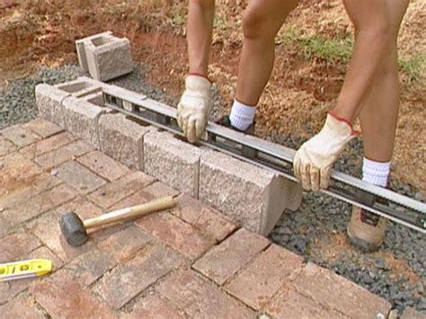 build  block retaining wall  tos diy