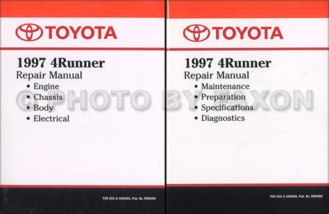 auto manual repair 1996 toyota 4runner engine control 1997 toyota 4runner cruise control repair shop manual supplement original