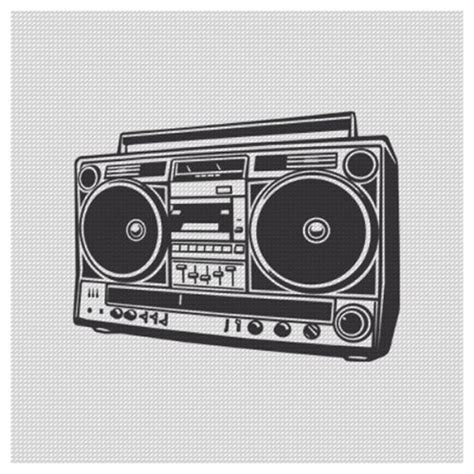 radio tattoos designs retro boombox illustration search fruit