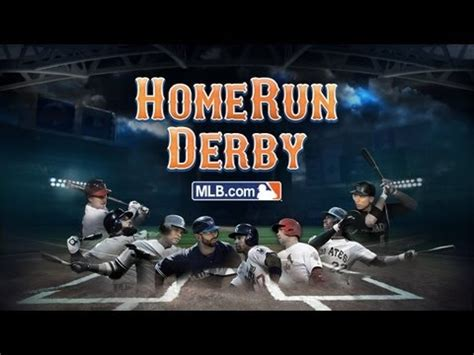 tonight is the home run derby go grab the app and play
