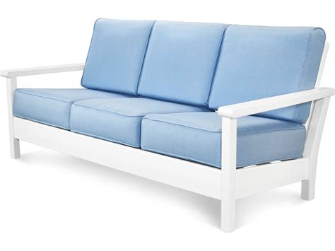 deep seat sofa polywood 174 harbour recycled plastic deep seating sofa 4013