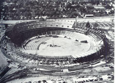Fulton County Civil Search Construction Of Fulton County Stadium 183 Ivan Allen Jr Digital Collection