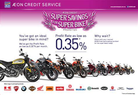 aeon credit motomalaya buy your dream bike now with aeon credit