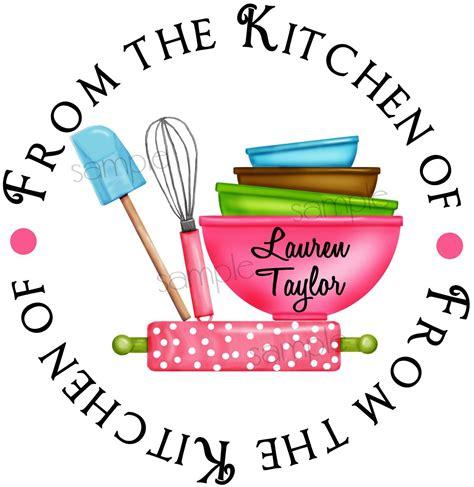 Kitchen stickers baking labels Kitchen Supplies Rolling