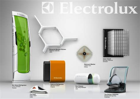 electrolux design contest electrolux design lab 2010 competition finalists the