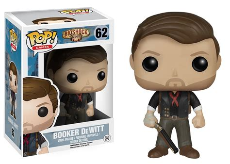 Funko Pop Booker Dewitt Skyhook Bioshock Infinite funko pop bioshock and bioshock infinite figures released