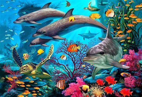 cuadros de paisaje cuadros modernos pinturas y dibujos paisajes submarinos