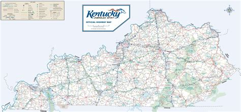 printable map kentucky large detailed road map of kentucky
