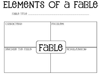 writing a fable template collaboration cuties aesop s fables must read mentor text
