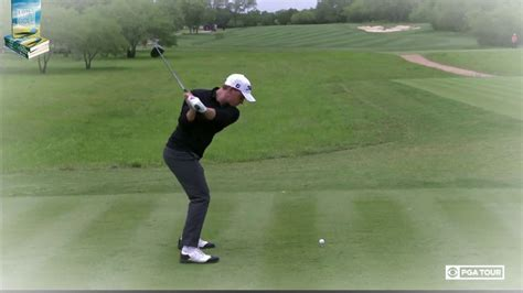 super slow motion golf swing bud cauley golf swing super slow motion dtl down the line