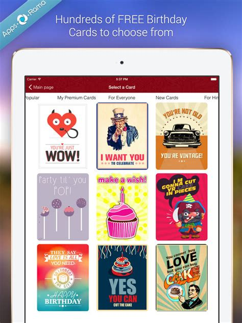 app to make birthday cards birthday cards for friends family apppicker