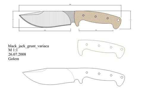 knife pattern dwg pin by jarrod gantt on knife making pinterest knives