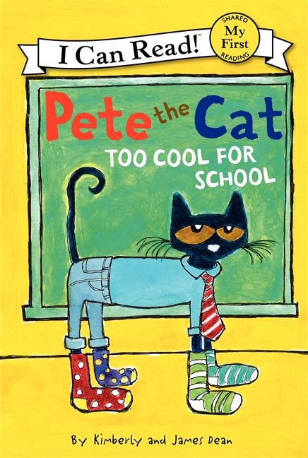 pete the cat and the cool caterpillar i can read level 1 books pete the cat cool for school by dean