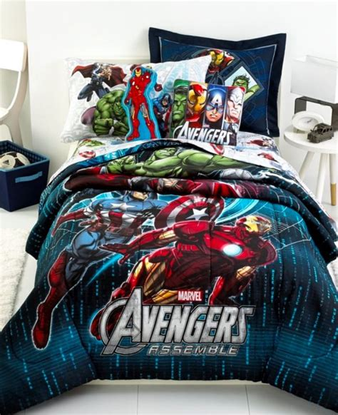 queen size superhero bedding superhero home decor for themed rooms parties