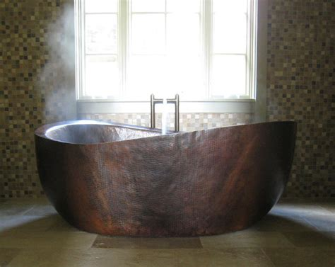 custom bathtubs client gallery custom copper bathtub deep copper