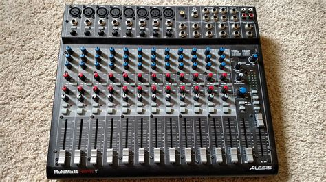 Mixer Black Widow 16 Channel alesis multimix 16 firewire 16 channel mixer reverb
