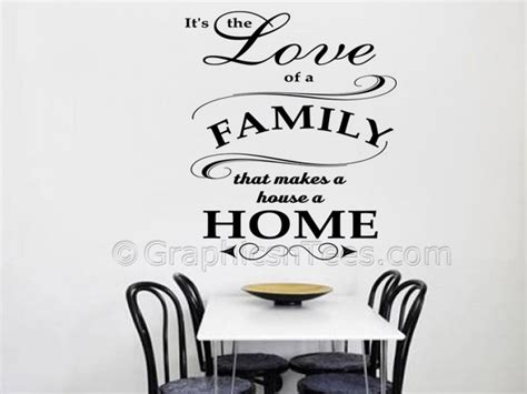 house wall stickers of family house a home family wall sticker quote
