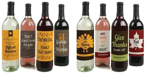 free fall and thanksgiving wine bottle labels to download new thanksgiving wine bottle labels jane