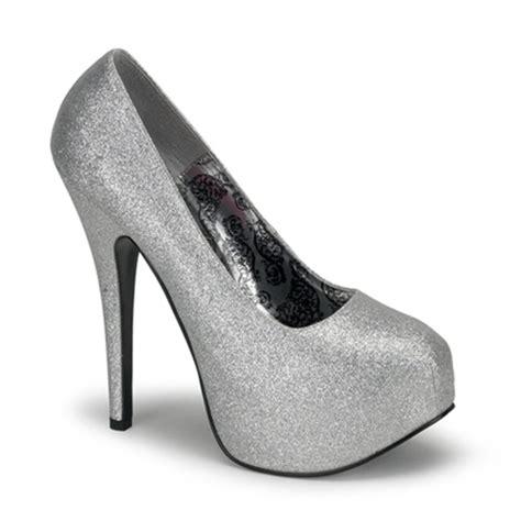 bordello shoes bordello teeze 31 glitter platform pumps bordello shoes