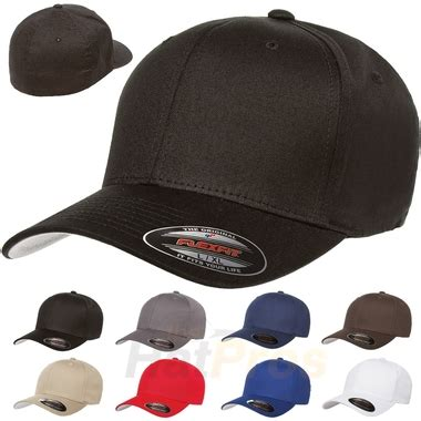 Topi Baseball Biru Kotak v flexfit cotton twill cap wholesale discount flex fit hats