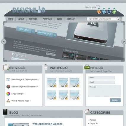 design lab free download designlab template free website templates in css html js