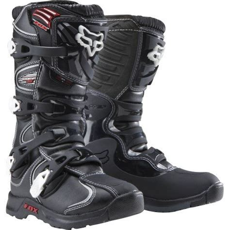 youth motorcycle boots fox racing comp 5 youth boys mx road dirt bike