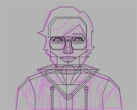 tutorial vector triangle how to create a self portrait in a geometric style