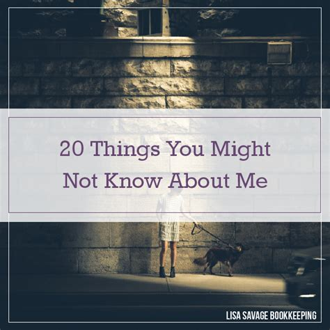 20 More Things You Might Not Know About Minecraft - 20 things you might not know about me lisa savage