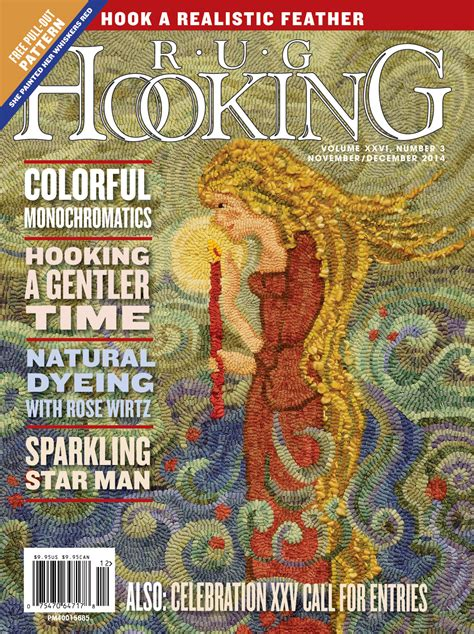 rug hooking magazine rug hooking magazine november december 2014 free us shipping