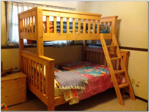 bunk beds twin over queen twin over queen bunk bed plans beds home design ideas
