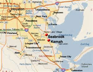kemah and seabrook map find kemah and seabrook real