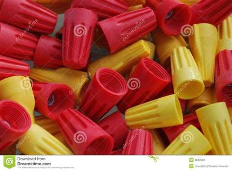 wire twist caps twist on wire cap connectors stock photos image 8843963