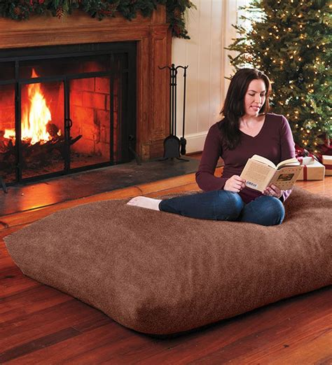 comfy floor pillows oversized floor pillow for bonus room i