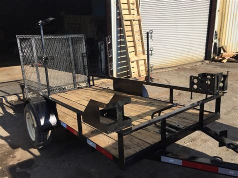 landscape trailer racks accessories warren truck