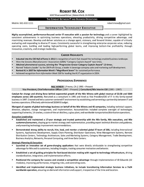 marketing executive resume objective sidemcicek