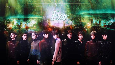 wallpaper laptop exo hd exo wallpaper by happinessismusic on deviantart