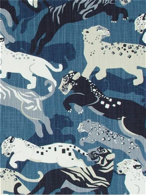 Tiger Drapery Dress rajita tiger midnight fabric by color