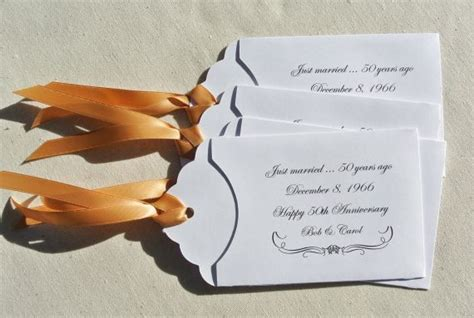 Wedding Anniversary Favors by 25 Best Ideas About 50th Anniversary Favors On