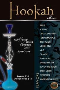 hookah menu sahara shelby sahara restaurant bar amp grill