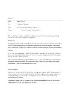 Sample letter to the board of directors template template