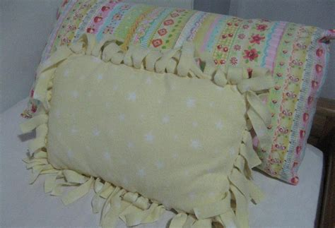 No Sew Cushion Covers by Gingham Cherry No Sew Fringed Cushion Cover Tutorial